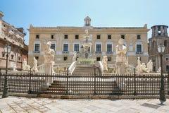 fontana palermo pretoria стоковые фотографии rf