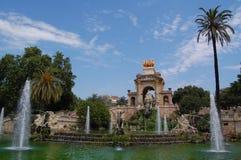 Fontana in Parc de la Ciutadella, Barcellona Fotografia Stock