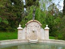 Fontana in parco Dendrarium, Soci Fotografia Stock Libera da Diritti