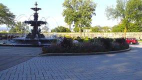 Fontana in Quebec archivi video