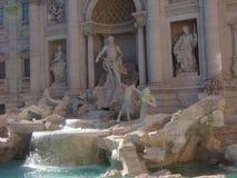 Fontana reale del Trevi Fotografia Stock Libera da Diritti