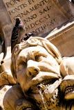 Fontana a Roma Immagine Stock