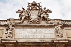 Fontana Roma di Trevi Fotografia Stock