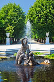 Fontana in Schonbrunn Immagine Stock Libera da Diritti