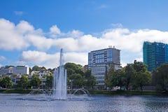 Fontana a Stavanger Fotografia Stock