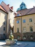 Fontana a Stoccolma Immagine Stock