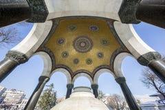 Fontana tedesca nel quadrato di Sultan Ahmet, Costantinopoli Fotografie Stock Libere da Diritti