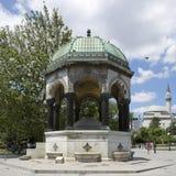 Fontana tedesca in Sultanahmet fotografia stock libera da diritti