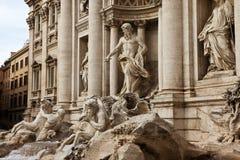 二fontana trevi 免版税图库摄影