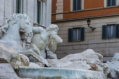 二fontana trevi 库存图片