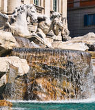 Fontana Trevi - Rome Royalty Free Stock Images