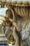 Fontana in un giardino Fotografie Stock Libere da Diritti