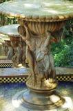 Fontana in un giardino Fotografia Stock