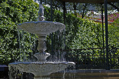 Fontana in un parco Fotografie Stock