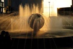 Fontana urbana Fotografie Stock Libere da Diritti