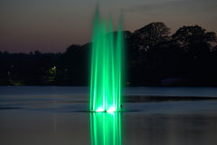 Fontana verde Immagine Stock Libera da Diritti
