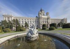 Fontana a Vienna Fotografia Stock