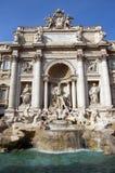 二fontana意大利罗马trevi 免版税图库摄影