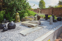 Fontane decorative per il giardino Fotografia Stock