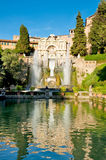 Fontane del Nettuno at tivoli Royalty Free Stock Photo
