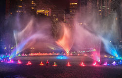 Fontane a Kuala Lumpur fotografie stock