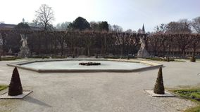 Fontane in Salzburg Stockbild