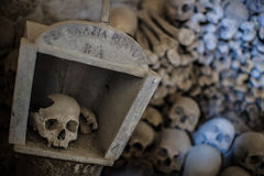 Fontanel cemetery Stock Photo