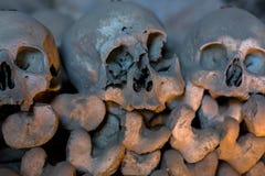 Fontanelbegraafplaats, Napels stock afbeeldingen