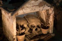 Fontanelbegraafplaats in Napels, Italië royalty-vrije stock fotografie