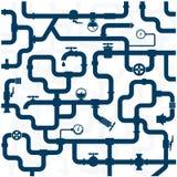 Fontanería de la tubería Imagen de archivo libre de regalías