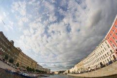 Fontanka河在圣彼得堡 库存图片