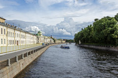 Fontanka canal Royalty Free Stock Images