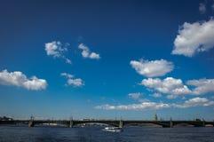 fontanka Petersburg rriver Russia st Zdjęcie Royalty Free