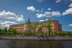 fontanka Petersburg rriver Russia st Zdjęcia Royalty Free