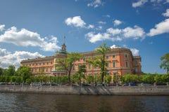 fontanka Petersburg rriver Russia st Zdjęcie Stock