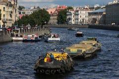 Fontanka river Royalty Free Stock Images