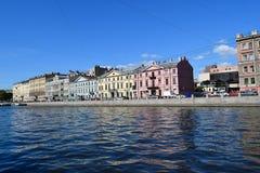 The Fontanka river embankment Royalty Free Stock Image