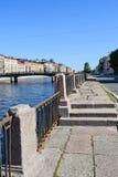 The Fontanka river embankment in St.Petersburg. Russia Royalty Free Stock Image