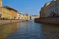 Fontanka river in Saint Petersburg. Russia Stock Image