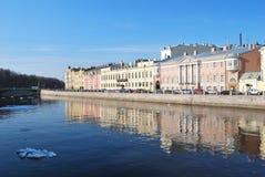 Fontanka river in Saint-Petersburg, Russia Stock Photo