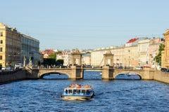 Fontanka river Stock Image