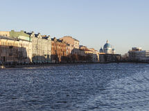 Fontanka River. St. Petersburg. Russia. Royalty Free Stock Image