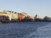Fontanka River. St. Petersburg. Russia. Royalty Free Stock Image