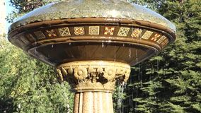 fontanna środkowy park zbiory wideo