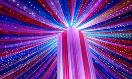 Fontanna światła Zdjęcie Royalty Free