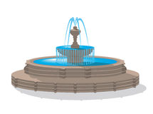 fontanna ilustracja wektor