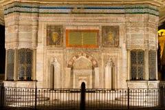 Fontanna Ahmed III Fotografia Royalty Free