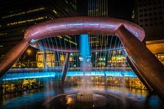 Fontanna bogactwa Suntec wierza Singapur Obraz Stock