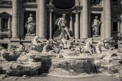 Fontanna De Trevi, Rzym, Włochy Zdjęcie Royalty Free