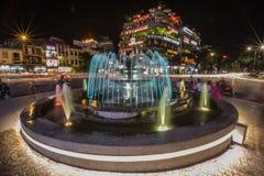 Fontanna Hanoi Obraz Royalty Free